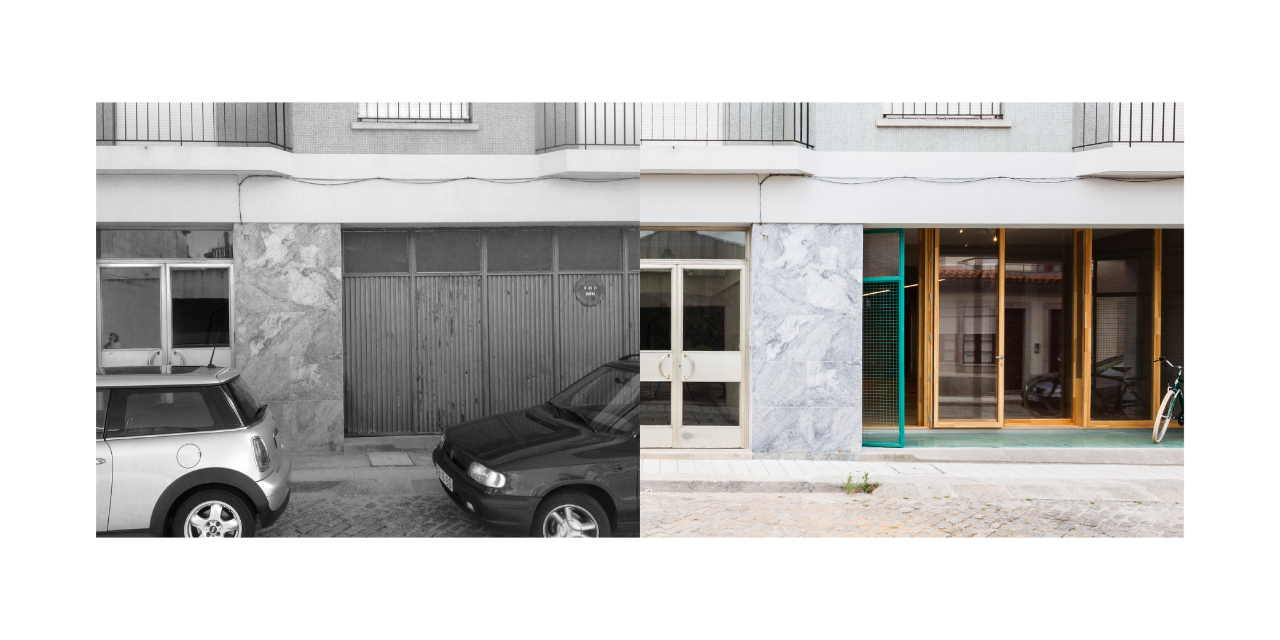 Quem passa na Rua António José da Silva 63, no Porto, sabe que aqui tem um lugar para partilhar ideias e experiências. É um espaço revitalizado por dentro e por fora.